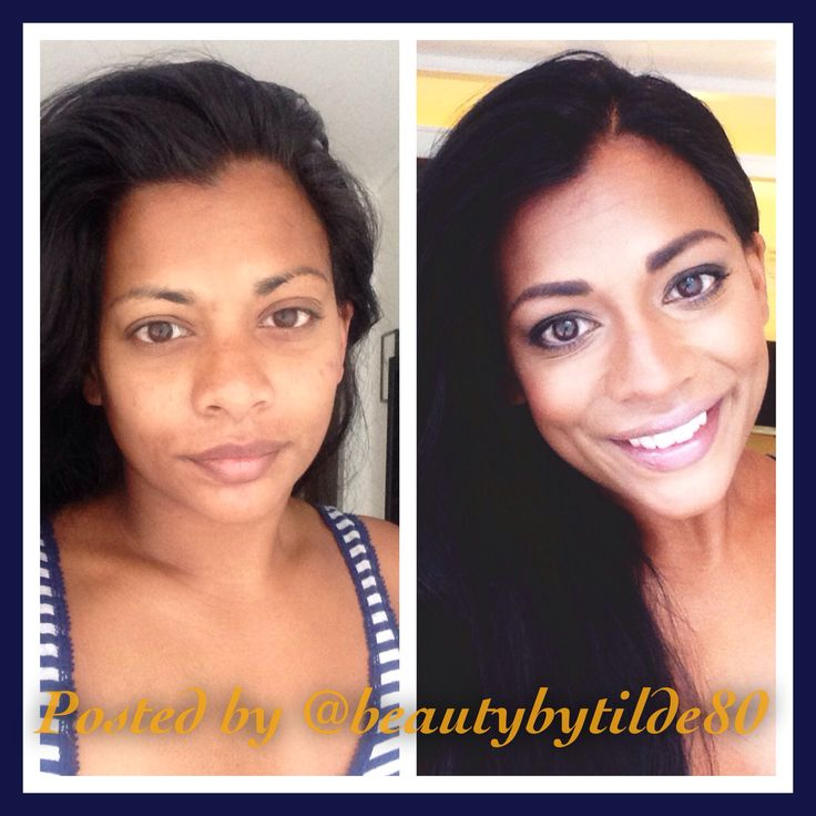 Natural beauty. Get a natural look with contouring and highlighting