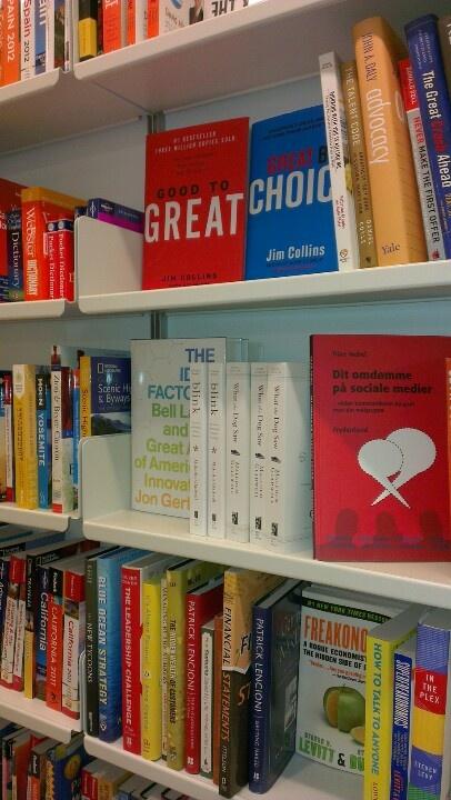 Good to great, Great by choice, Dit omdømme på sociale medier og andre spændende bøger.