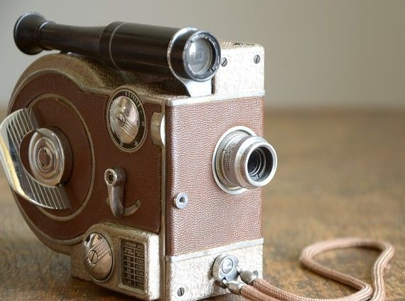 Vintage 1940s Revere Eight 8mm Movie Camera .. Model 70. Found in The Fancy Lamb's shop on Etsy (reserved) for $41.00.