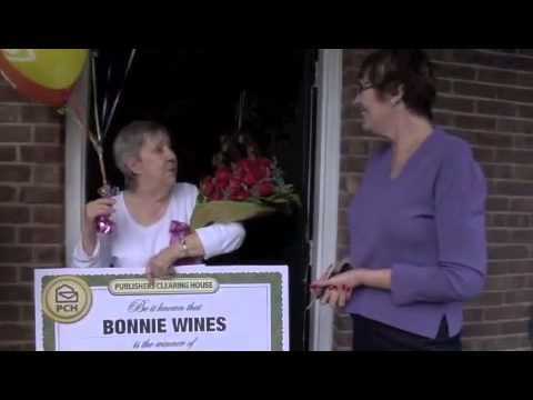 Publishers Clearing House - First Winner of 2013! | My PCH Favorite's