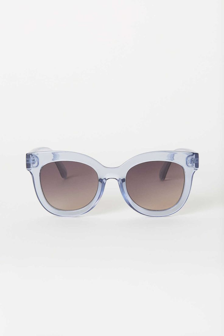 46be4ec041 Light blue. Sunglasses with plastic frames and UV-protective