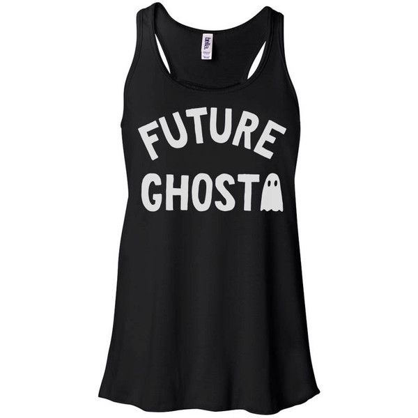 Future Ghost Tank Top, Halloween Tank, Dead Inside Tee, Grunge Outfit,... ($18) ❤ liked on Polyvore featuring tops, holiday party tops, night out shirts, party tops, shirt tops and grunge tops