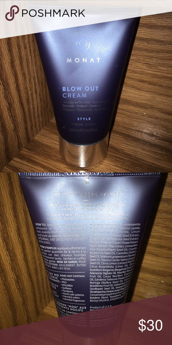 Monat blow out cream Never used. Bought for bridal…