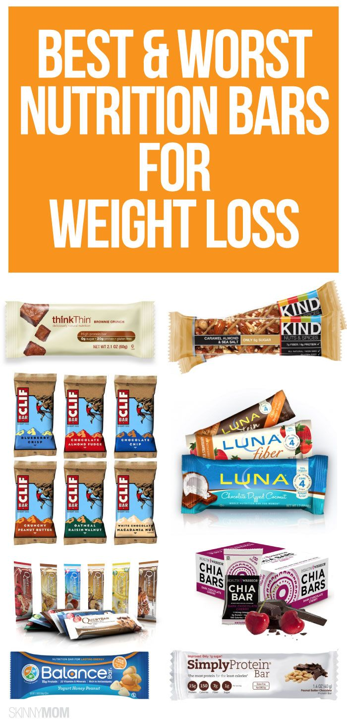 End the nutrition bar debate. Which are good and which are bad for weight loss?