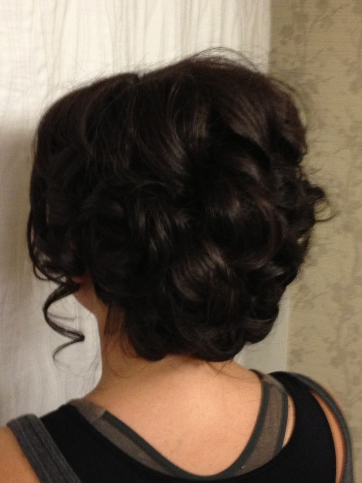 Great Updo Long Thick Hair Updos