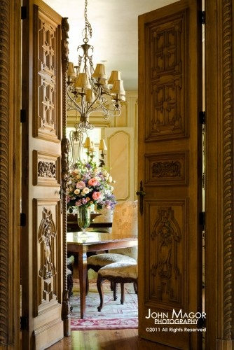 2388 best interiors old world french country primitive for Hotel door decor