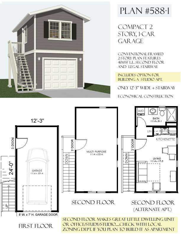 Best 25 small garage ideas on pinterest small garage for Apartment garage storage