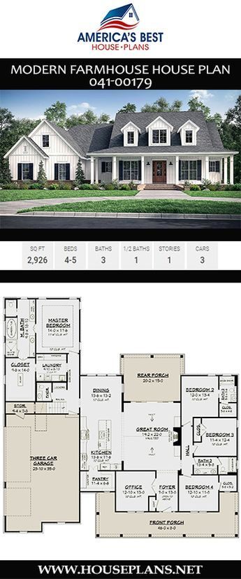 A stunning, 2,926 sq. ft. Modern Farmhouse home, P…