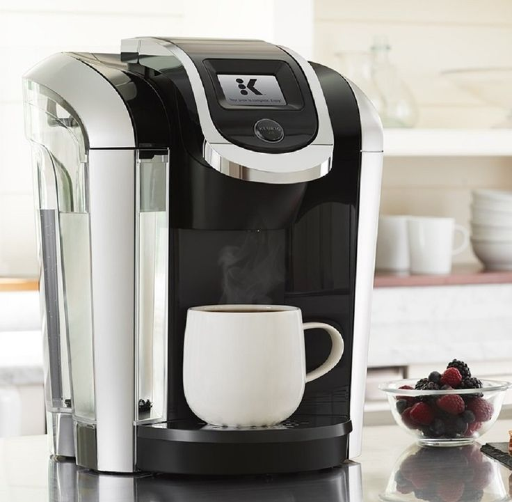 Keurig K475 Programmable K- Cup Pod Coffee Maker with 12 oz brew size -A premium, adjustable espresso producer. Incorporates 6 K-Cup units and a water channel handle + 2 channels to enable your drinks to taste their best.  -Expansive 70oz WATER RESERVOIR: Allows you to blend 8+ containers more before refilling, sparing you time and streamlining your morning schedule. The water repository is removable, making it simple to refill at whatever point you have to.