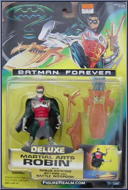 Kenner Batman Forever Deluxe Robin Martial Arts Figure