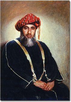 H.H the Sultan Said Bin Taimur bin Fasial Al Said the deceased Sultan of Muscat and Oman. Father of the present Sultan of Oman. H.M Sultan Qaboos bin Said bin Taimuir Al Sais.