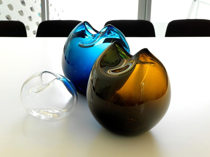 Kate Hume glass vases, design by MR. MITCHELL