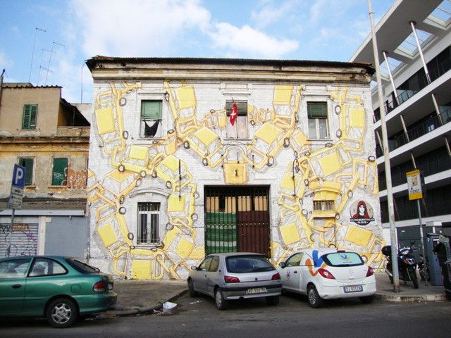 StreetArt Rome - Blu - Alexis - Ostiense
