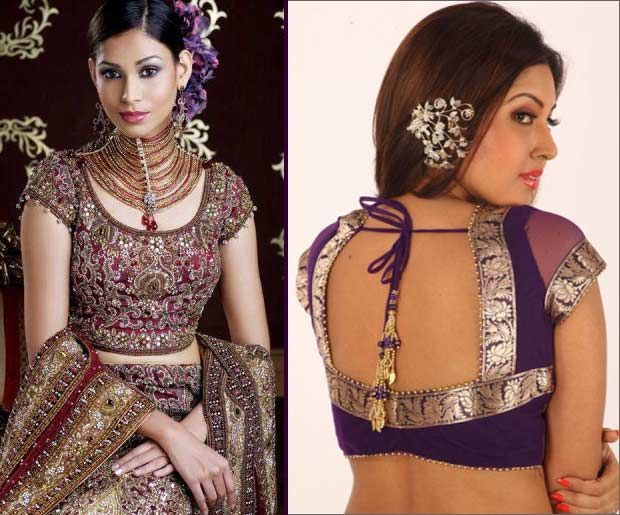Banarasi Designer Blouses are an evergreen fashion. Checkout the 7 Blouse back neck designs that will make everyone go wow when they see you at an event.