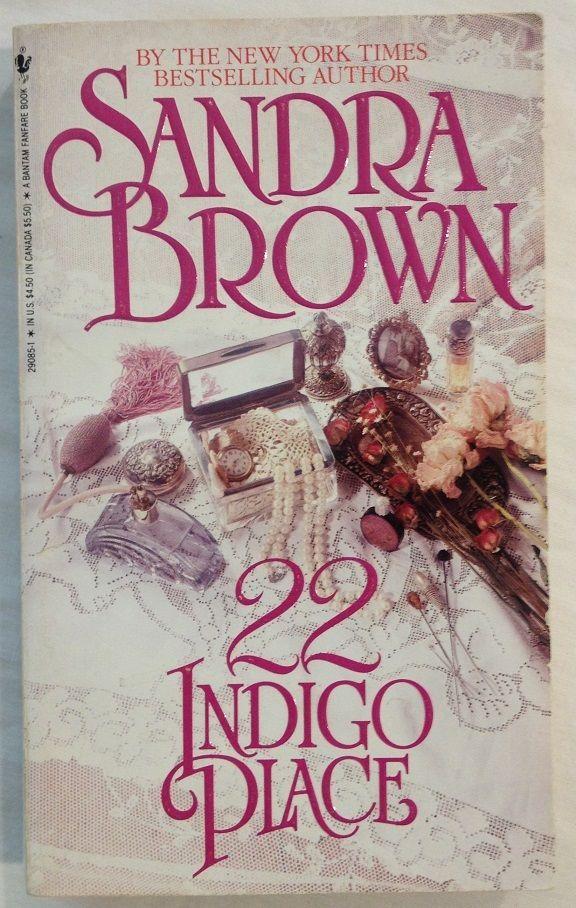 22 Indigo Place by Sandra Brown (1991, Paperback)