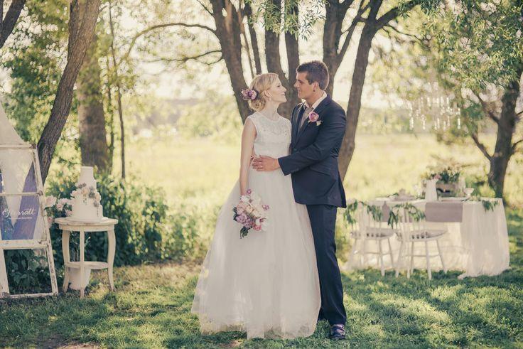 Bride and groom Sweden Wedding