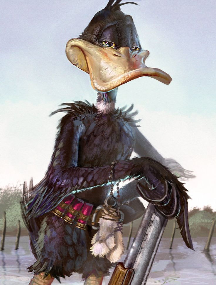 Daffy Duck - David De Léon Luis