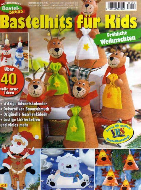 Bastelwelt - Bastelhits für Kids - Fröhliche Weihnachten - Muscaria Amanita - Λευκώματα Iστού Picasa