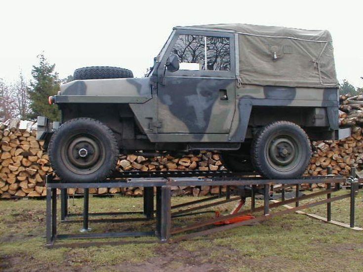Car Ramp Plans Uk Military Landrover Automotive Tools