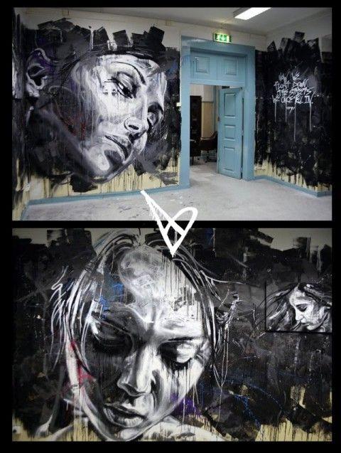 Street Art - David Walker                                                                                                                                                                                 Plus