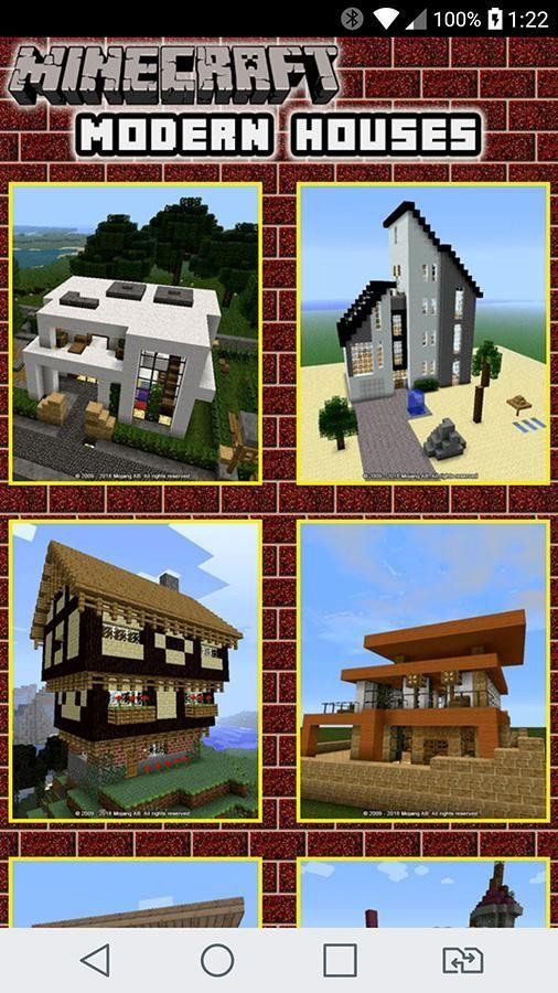 Download Rumah Minecraft : download, rumah, minecraft, Minecraft, Build, Modern, House, Design, Ideas, Android, Download, House,, Houses,