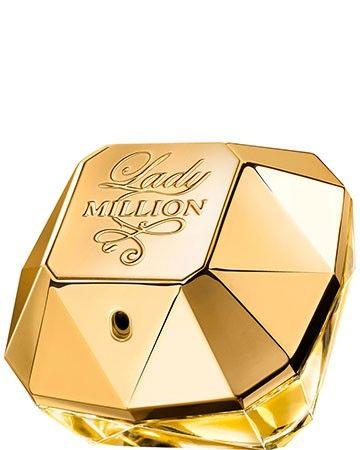 Paco Rabanne Lady Million Eau De Parfum Spray 80ml is  de vrouwelijke tegenhanger van de succesvolle herengeur 1 Million. Lady Million is een frisse, glamoureuze en verleidelijke geur gehuld in een gouden flacon in de vorm van een diamant. Dit oriëntaalse parfum is perfect voor de zelfverzekerde en passievolle vrouw. Een absolute must-have voor de moderne vrouw van nu. #moederdagcadeau #moederdag #moederdagtip