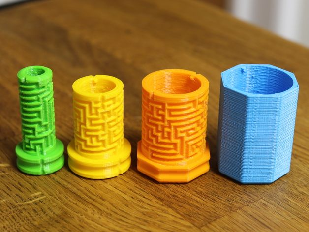 This Is A Multiple Level Maze Puzzle Box I E You Solve One Puzzle And Find There Is Another And May 3d Printing Diy 3d Printed Objects 3d Printing Projects