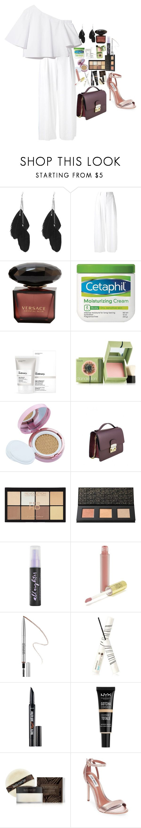 """""""Untitled #4628"""" by veronicaptr ❤ liked on Polyvore featuring Diane Von Furstenberg, Cetaphil, The Ordinary, Benefit, Laneige, ULTA, Lancôme, Urban Decay, Gerard Cosmetics and Sephora Collection"""