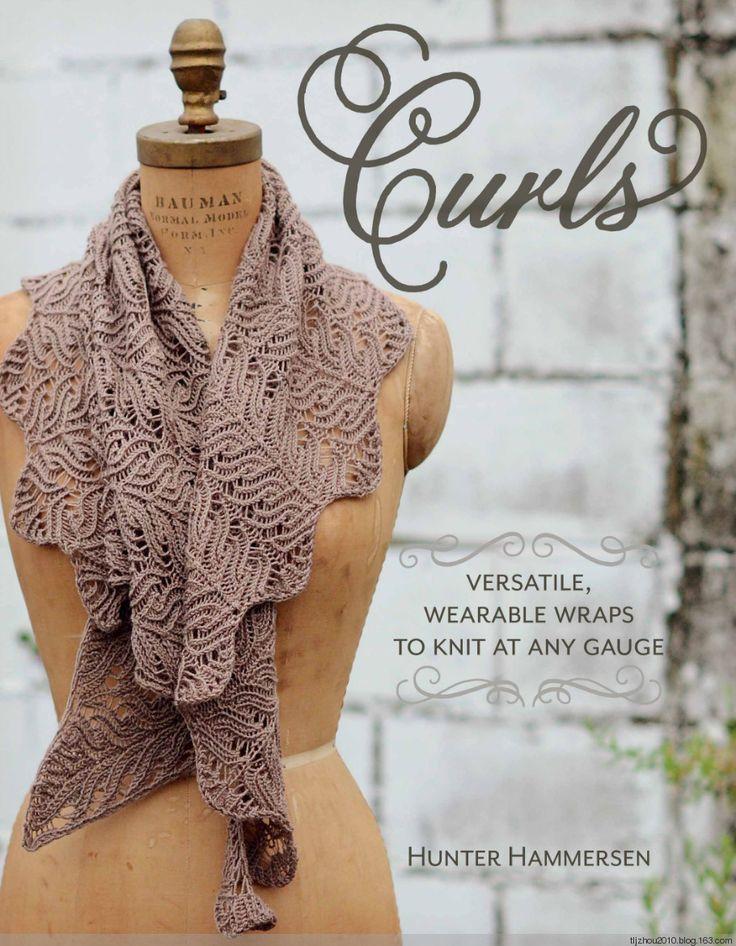 Curls Versatile 钩针披肩 - 紫苏 - 紫苏的博客
