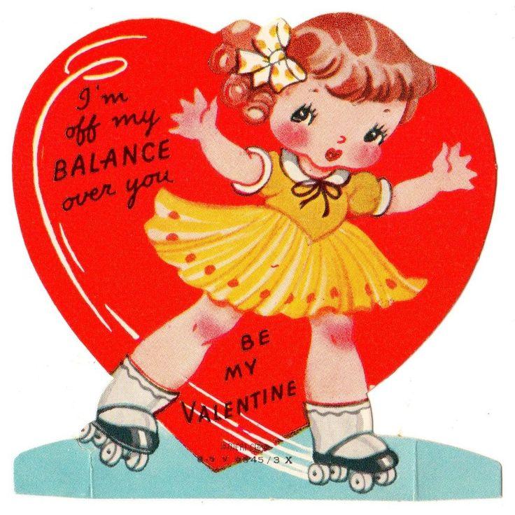 326 best Valentines images on Pinterest  Vintage images Vintage