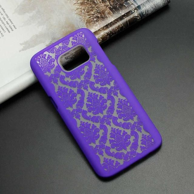 A3 A5 2016 Phone Case Retro Damask Pattern Engraved Matte Case Cover For Samsung Galaxy A3 A3000 A5 S7 Edge S6 S5 S4 Note 5 4 3 In 2021 Case Samsung Galaxy Phone Covers Samsung Cases