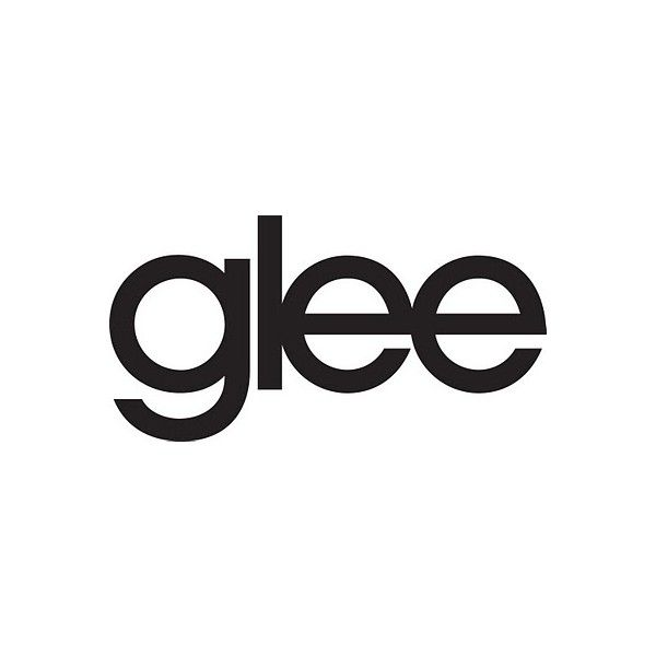 vector of the world: glee logo ❤ liked on Polyvore featuring glee, logo, quotes, text, fillers, phrase and saying