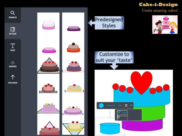 Use predesigned styles or customize them to 'suit-your-taste'!