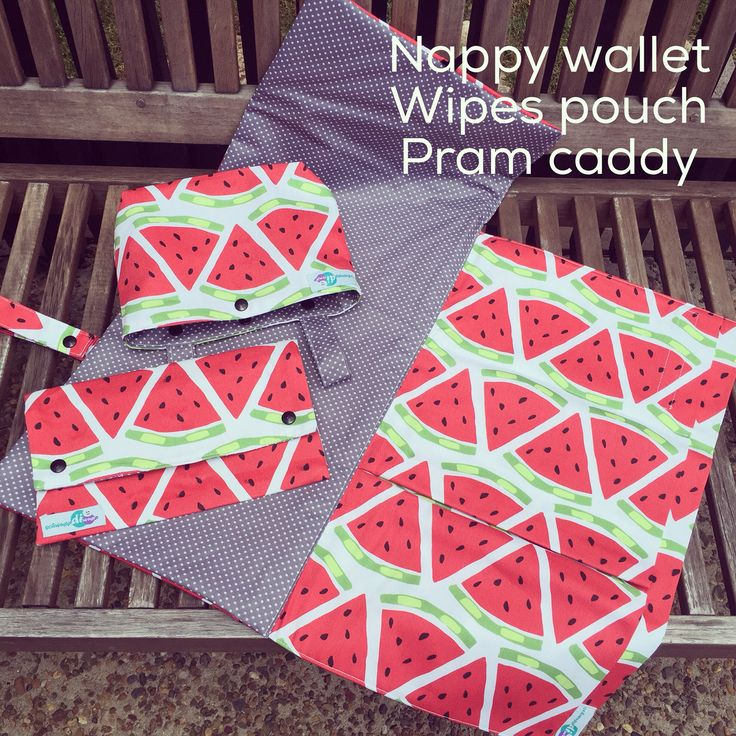 I just love this new watermelon fabric: nappy wallet, wet wipes pouch and pram caddy in a new fresh look perfect for summer  #schwuppdiwupp_ #nappytime #nappywallet #nappyclutch #diaperclutch #diaperwallet #handmade #australianmade #brisbanemade #shophandmade #shopsmall #brisbanemums #baby #babygift #babyshower #babyshowergift #newmums #newbaby #babyaccessories #babyessentials #babyproducts #nursery