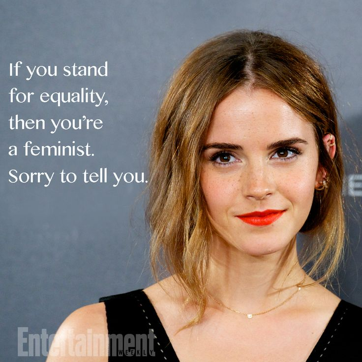 12 of Emma Watson's most powerful quotes about feminism - feminist quotes, women's empowerment