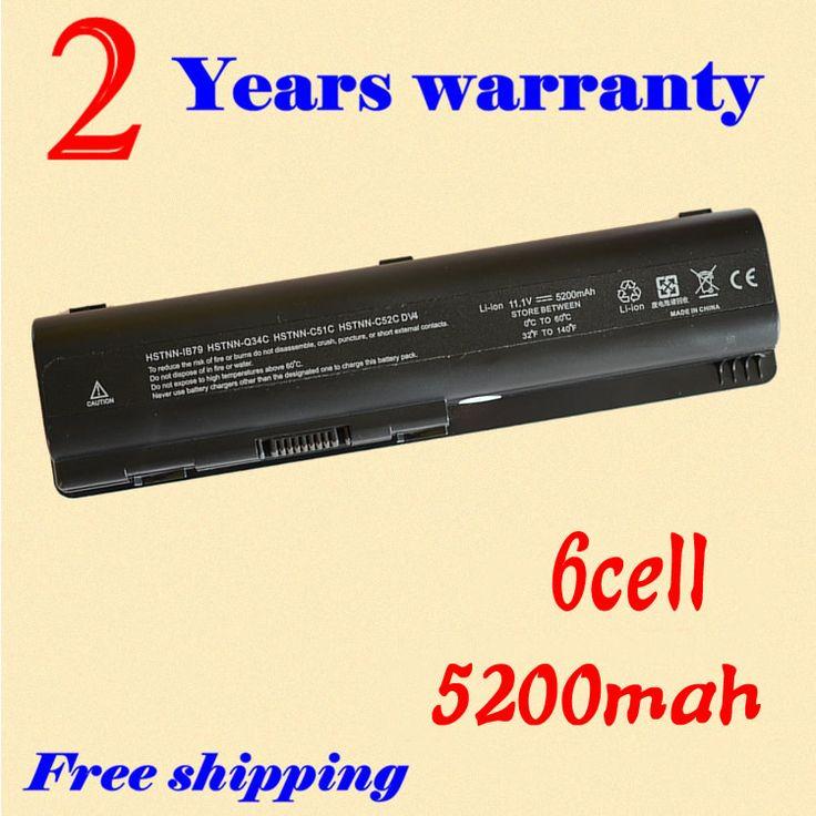 JIGU Battery for HP Pavilion DV4 DV5 DV6 G71 G50 G60 G61 G70 DV6 DV5T HSTNN-IB72 HSTNN-LB72 HSTNN-LB73 HSTNN-UB72 HSTNN-UB73 #Affiliate