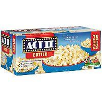 Act Ii Er Microwave Popcorn 28 3 Oz Sam S Club