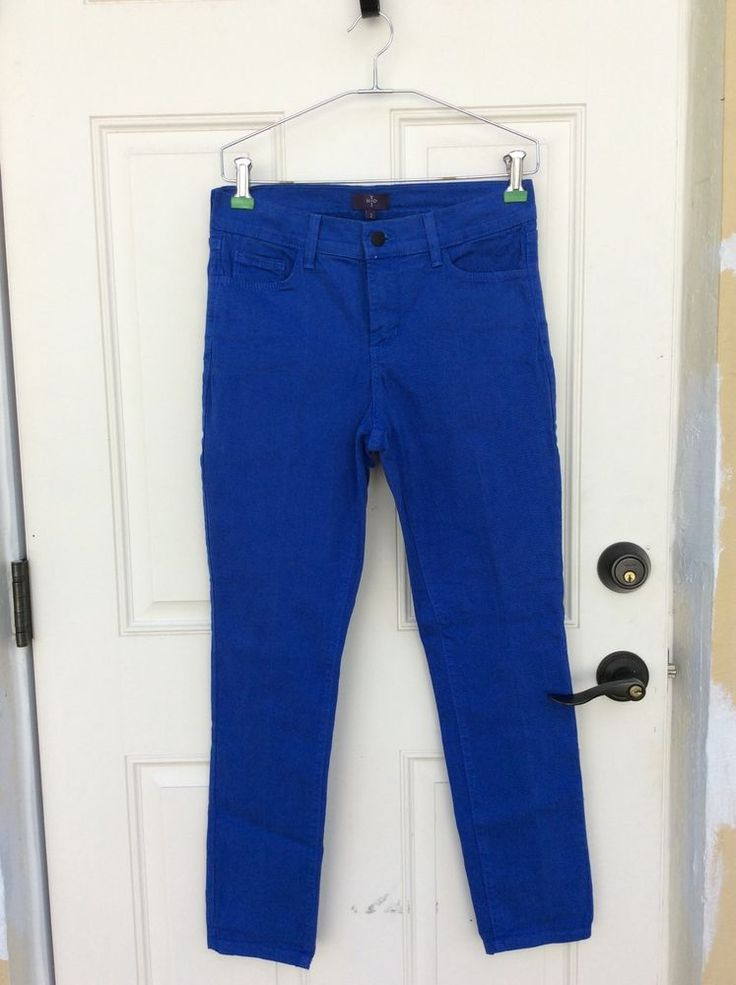 NYDJ Not Your Daughters Jeans Royal Blue Size  2 Women's  #NotYourDaughtersJeans #StraightLeg