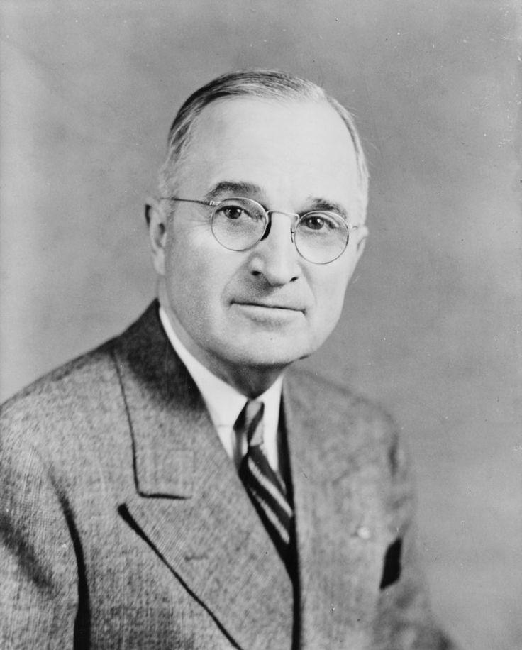Harry S. Truman 1945-1953