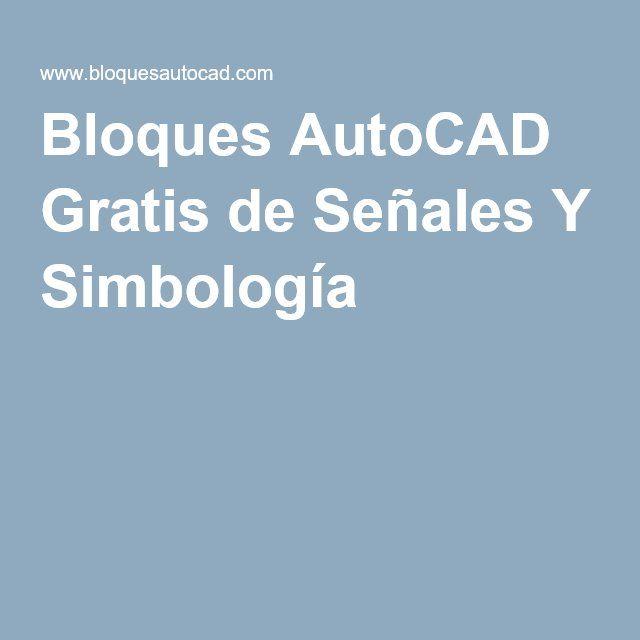 Bloques Autocad Gratis De Se Ales Y Simbolog A Casita