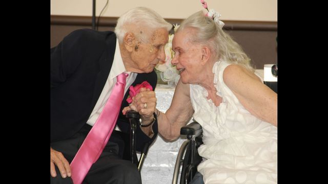 Lovebirds at Nursing Home Renew Wedding Vows After 75 Years Together