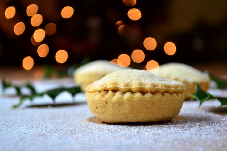Mince Pies - A delicious Christmas classic, filled with homemade mincemeat and surrounded by hand rolled shortcrust pastry.