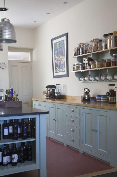 Kitchen Designed In Modern Victorian Style | DigsDigs
