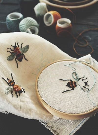 French knot bees