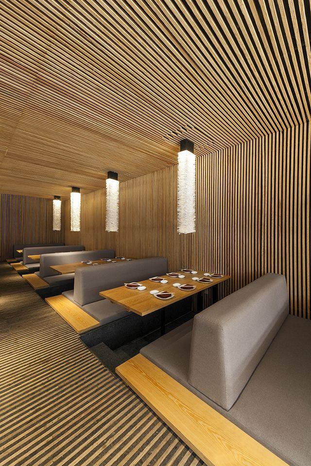 Kiga Restaurant in Paeso Interlomas, Mexico by Cherem Arquitectos