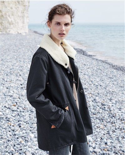Product Image of Cotton quilted jacket #MyPoetryFavourites and #PoetryFashion