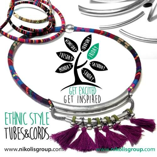 ethic style necklaces!hind all the materials @www.nikolisgroup.com