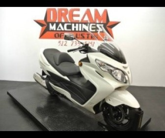 Affordable 2012 Suzuki Burgman 400 Cruiser Motorcycles for sale by Dream Machines of Austin for US$ 5950 in Round Rock, TX, USA at MotorcyclesJunction.Com