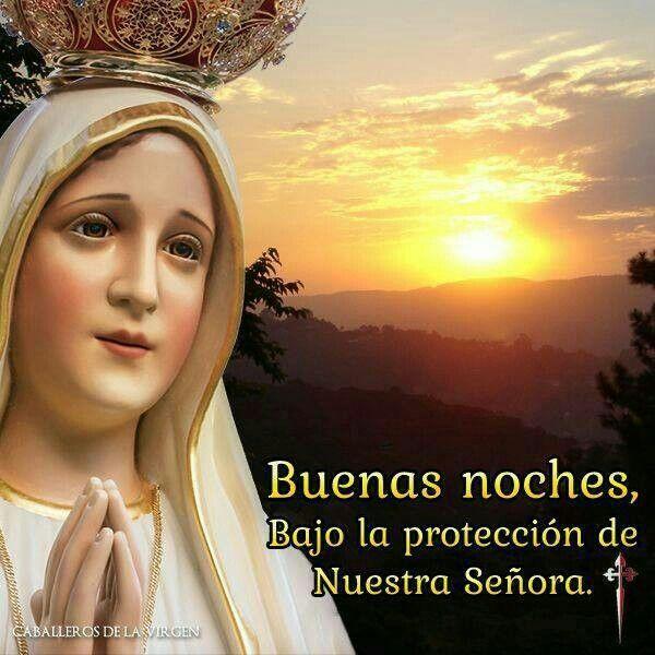 Contigo voy Virgen pura....