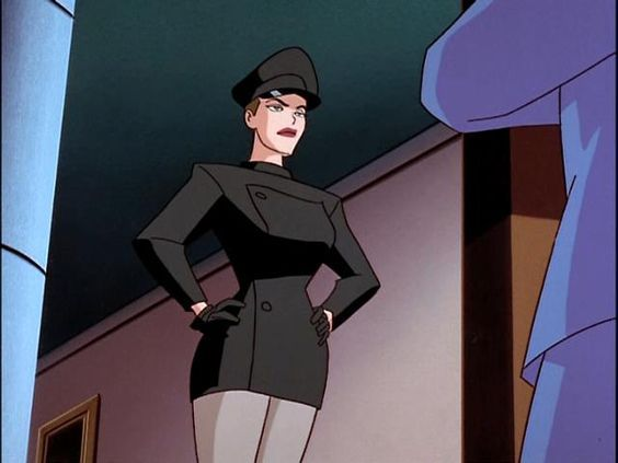 Mercy Graves (Wikipedia article) - Lex Luthor's personal assistant and bodyguard, who is reminiscent of Catwoman, in many ways. Their complex relationship is primarily described in  Superman: The Animated Series (which has been praised for its thematic complexity and maturity), rather than comics (where she appears very seldom, she is different, and no time is spent on her character development).